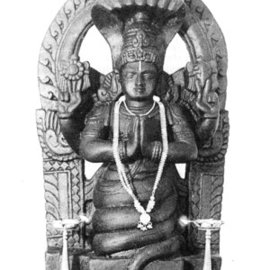 Patañjali Statue (traditional form indicating Kundalini or incarnation of Shesha)